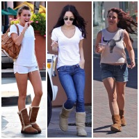 WHY DO CELEBRITIES WEAR UGG BOOTS IN L.A. ?